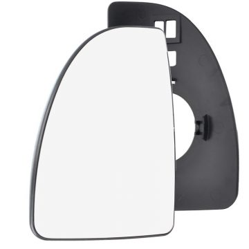 Left side wing door mirror glass for Citroen Relay, Fiat Ducato, Peugeot Boxer