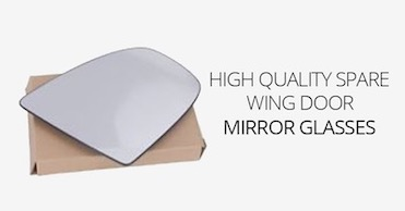 wing door Mirror Glass