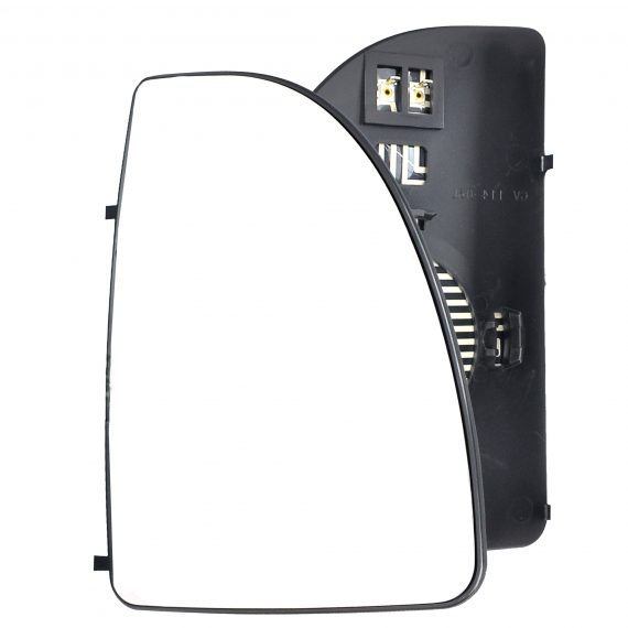 Right side wing door mirror glass for Fiat Ducato