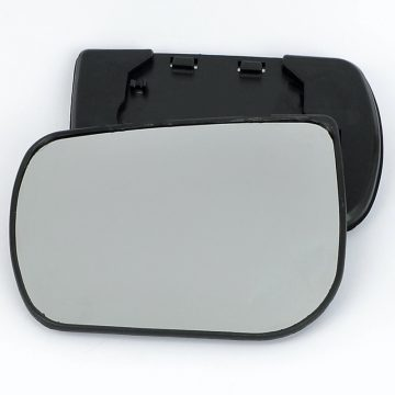 Left side wing door mirror glass for Ford Escape