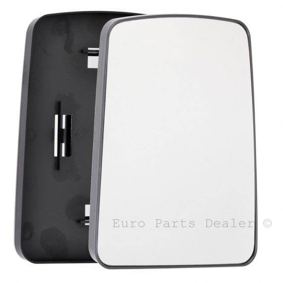 Right side wing door mirror glass for Renault Master, Renault Trafic, Vauxhall Movano