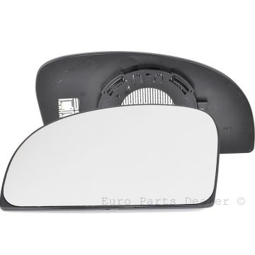 Left side blind spot wing mirror glass for Fiat Ducato