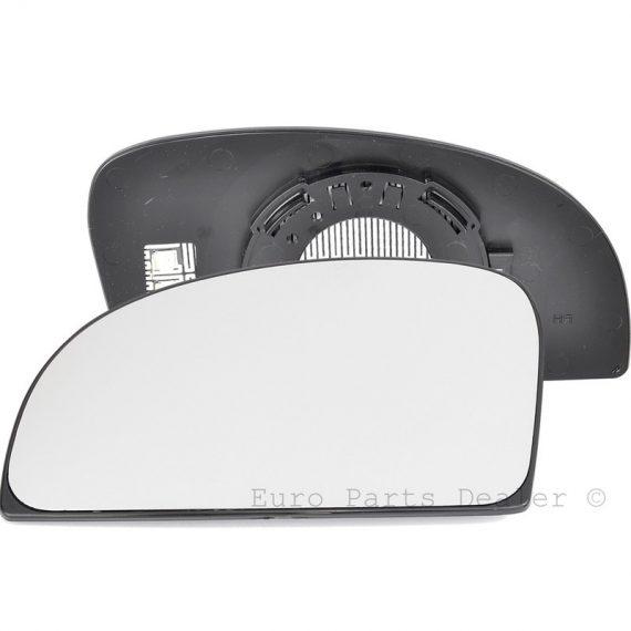 Left side blind spot wing mirror glass for Fiat Ducato