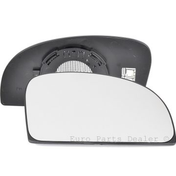 Right side wing door blind spot mirror glass for Fiat Ducato