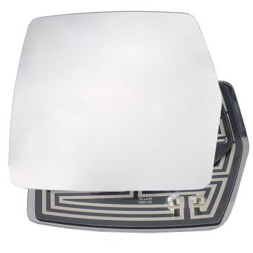 Left side wing door mirror glass for Citroen Dispatch, Fiat Scudo