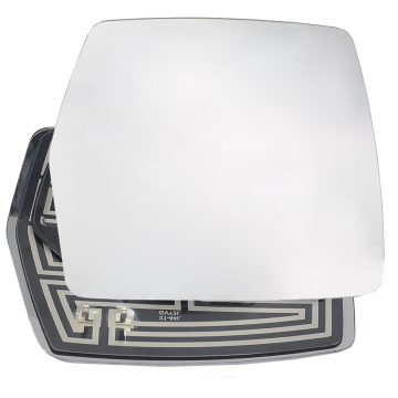 Right side wing door mirror glass for Citroen Dispatch, Fiat Scudo