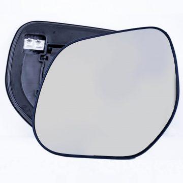 Left side wing door mirror glass for Citroen C-Crosser