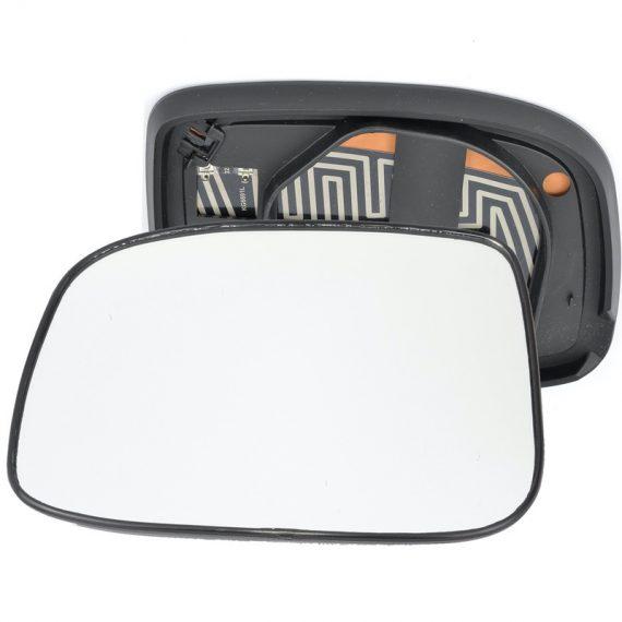 Left side wing door mirror glass for Isuzu Rodeo