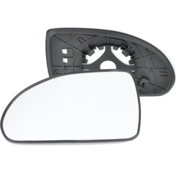Left side wing door mirror glass for Hyundai Elantra