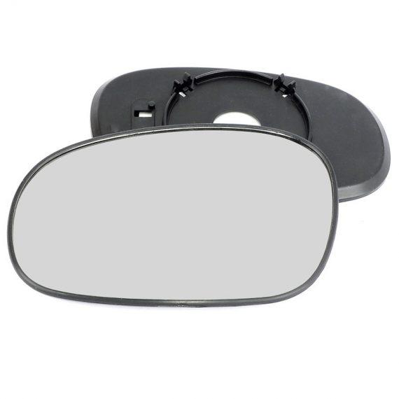 Left side wing door mirror glass for Daewoo Lanos