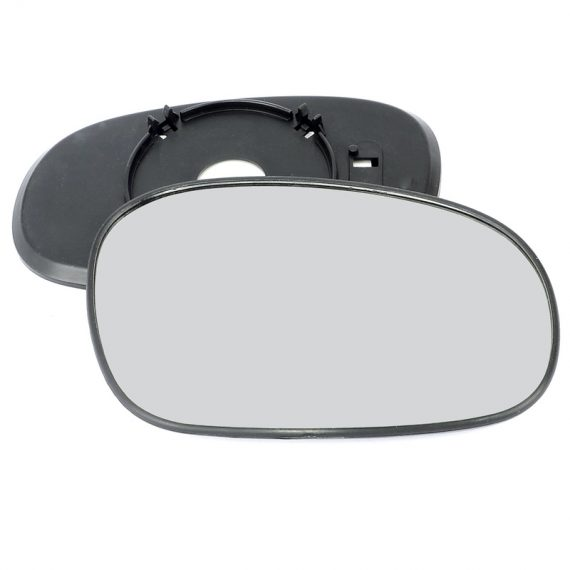 Right side wing door mirror glass for Daewoo Lanos