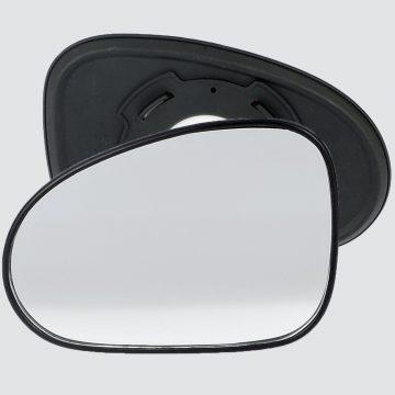Left side wing door mirror glass for Daewoo Matiz