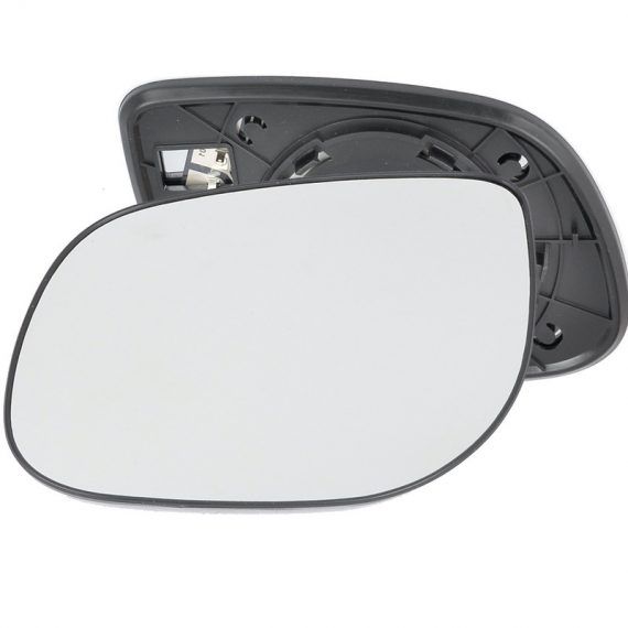 Left side wing door mirror glass for Kia Cerato