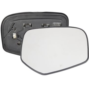 Right side wing door mirror glass for Fiat Fullback