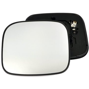Left side wing door mirror glass for Mitsubishi Shogun Pajero