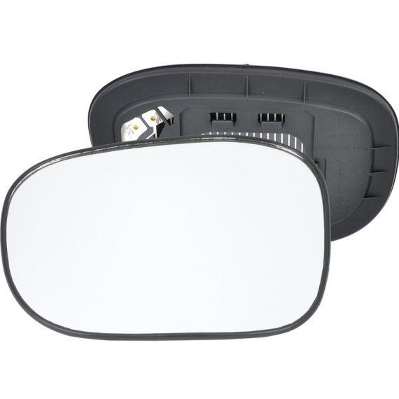 Left side wing door mirror glass for Nissan Pathfinder