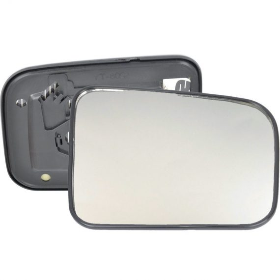 Right side wing door mirror glass for Nissan Navara, Nissan Patrol