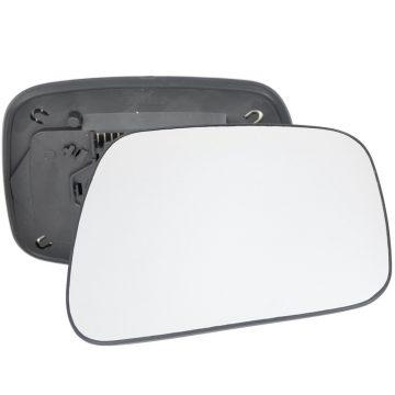 Left side wing door mirror glass for Nissan Navara