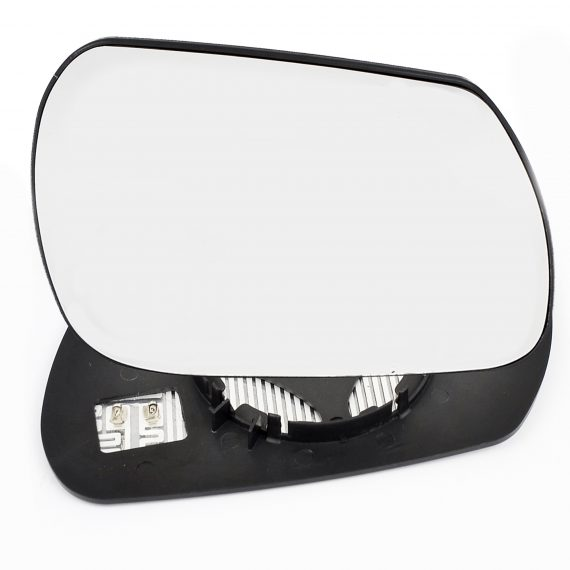 Right side wing door mirror glass for Nissan Leaf