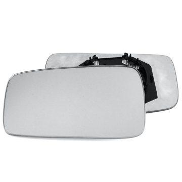Left side wing door mirror glass for Audi 80, Seat Toledo