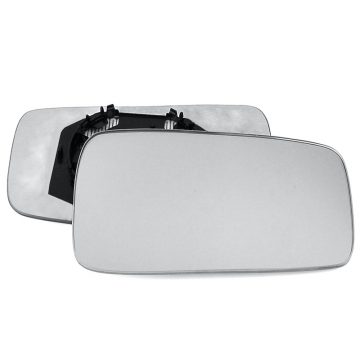 Right side wing door mirror glass for Audi 80, Seat Toledo
