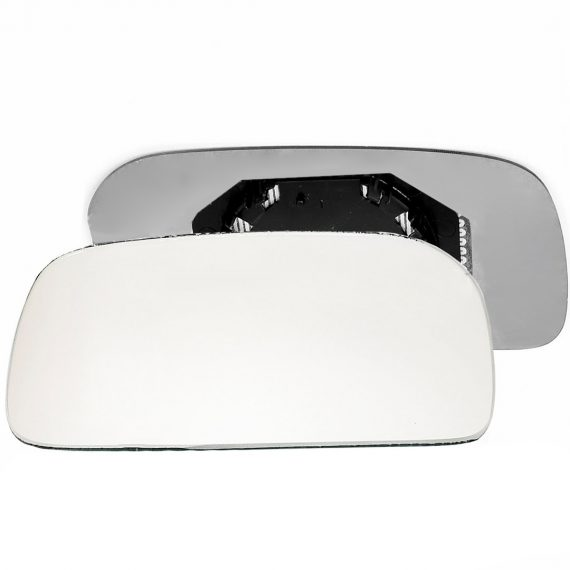 Left side wing door mirror glass for Audi 100 C4