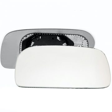 Right side wing door mirror glass for Audi 100