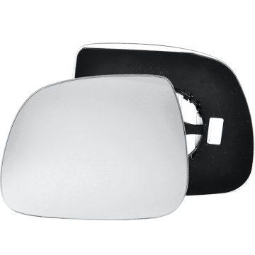 Left side wing door mirror glass for Volkswagen Transporter