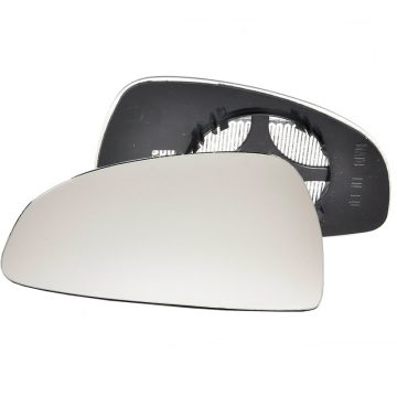 Left side wing door mirror glass for Audi TT