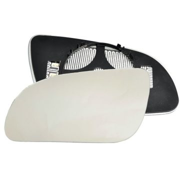 Left side wing door mirror glass for Audi A8