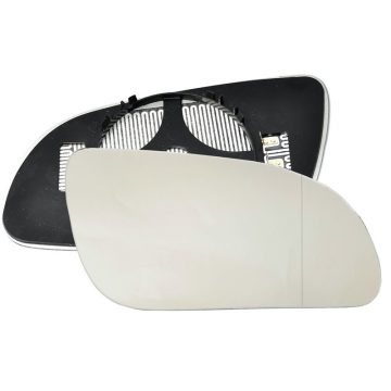 Right side wing door blind spot mirror glass for Audi A8