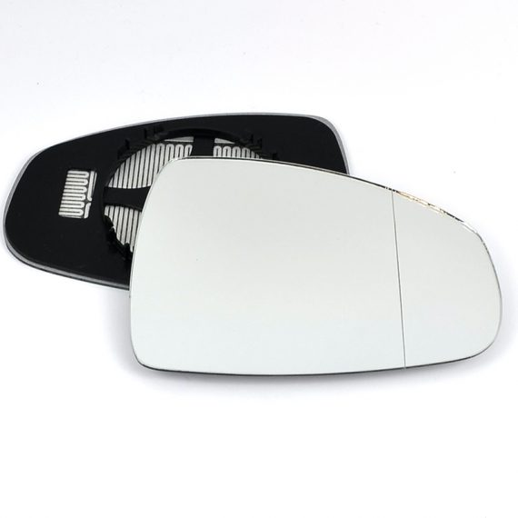 Right side wing door blind spot mirror glass for Audi A1