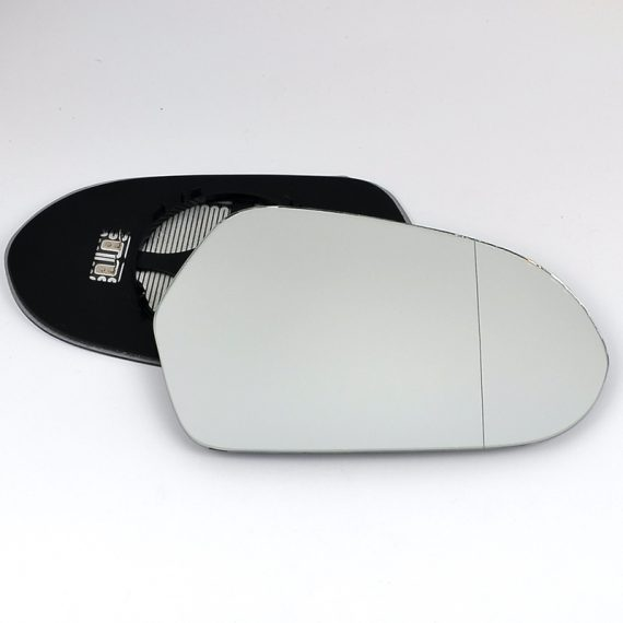Right side wing door blind spot mirror glass for Audi A6