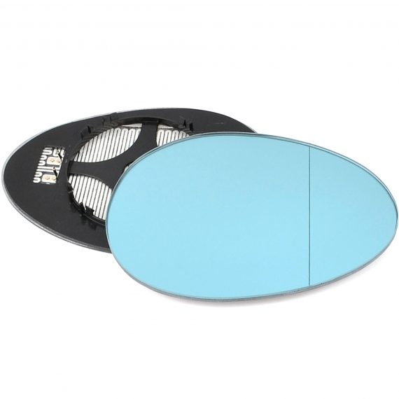 Right side wing door blind spot mirror glass for BMW 7 Series