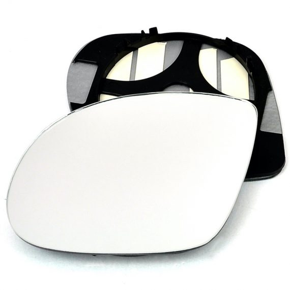 Left side wing door mirror glass for BMW M3, Vauxhall Corsa