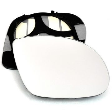 Right side wing door mirror glass for BMW M3, Vauxhall Corsa