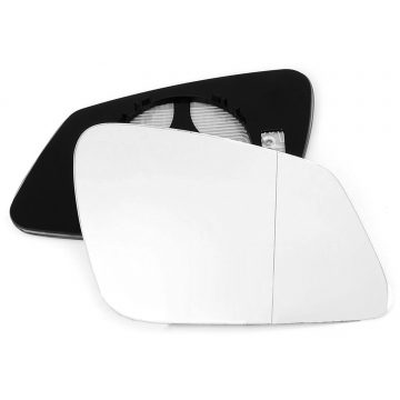 Right side wing door blind spot mirror glass for BMW 2 Series, BMW 3 Series, BMW 4 Series, BMW 5 Series, BMW 6 Series, BMW 7 Series, BMW i3, BMW X2