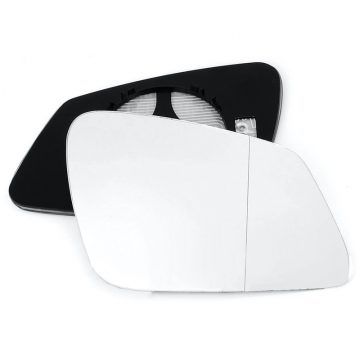 Right side wing door blind spot mirror glass for BMW X1