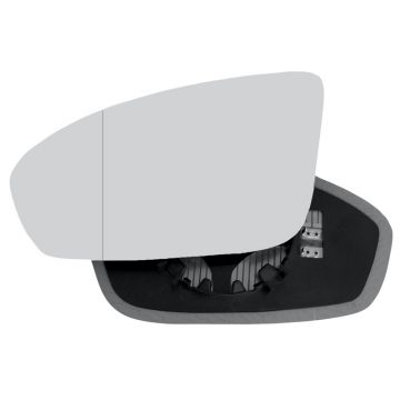 Left side blind spot wing mirror glass for BMW M5