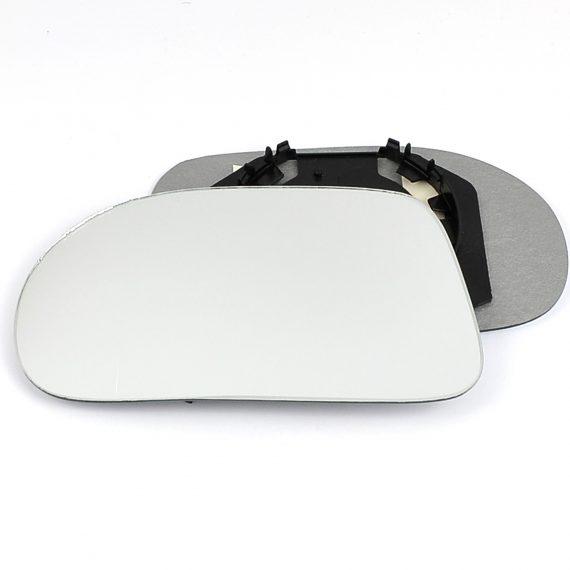 Left side wing door mirror glass for Fiat Brava