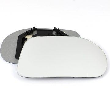 Right side wing door mirror glass for Fiat Brava