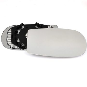 Right side wing door mirror glass for Fiat Punto