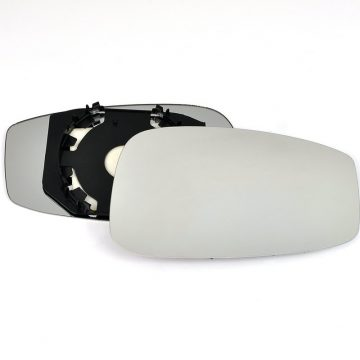 Right side wing door mirror glass for Fiat Stilo