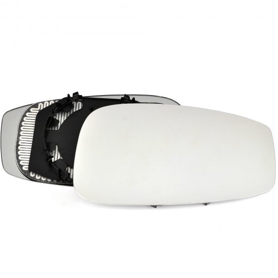 Right side wing door mirror glass for Fiat Idea