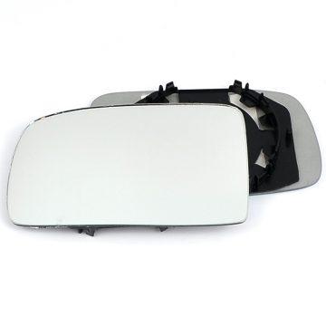 Left side wing door mirror glass for Fiat Panda