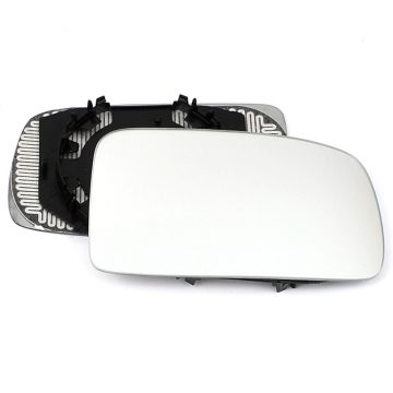 Right side wing door mirror glass for Fiat Panda