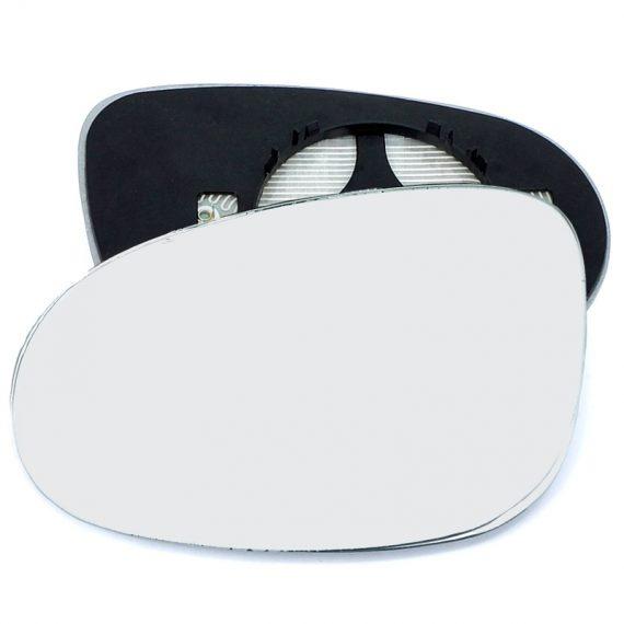 Left side wing door mirror glass for Chrysler Delta, Chrysler Ypsilon, Fiat Brava, Fiat Croma, Ford KA