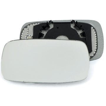 Left side wing door mirror glass for Ford Mondeo