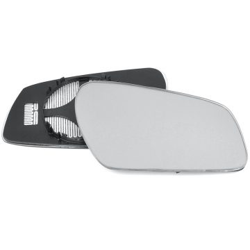 Right side wing door mirror glass for Ford Fiesta, Ford Fusion