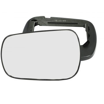Left side wing door mirror glass for Ford Fusion